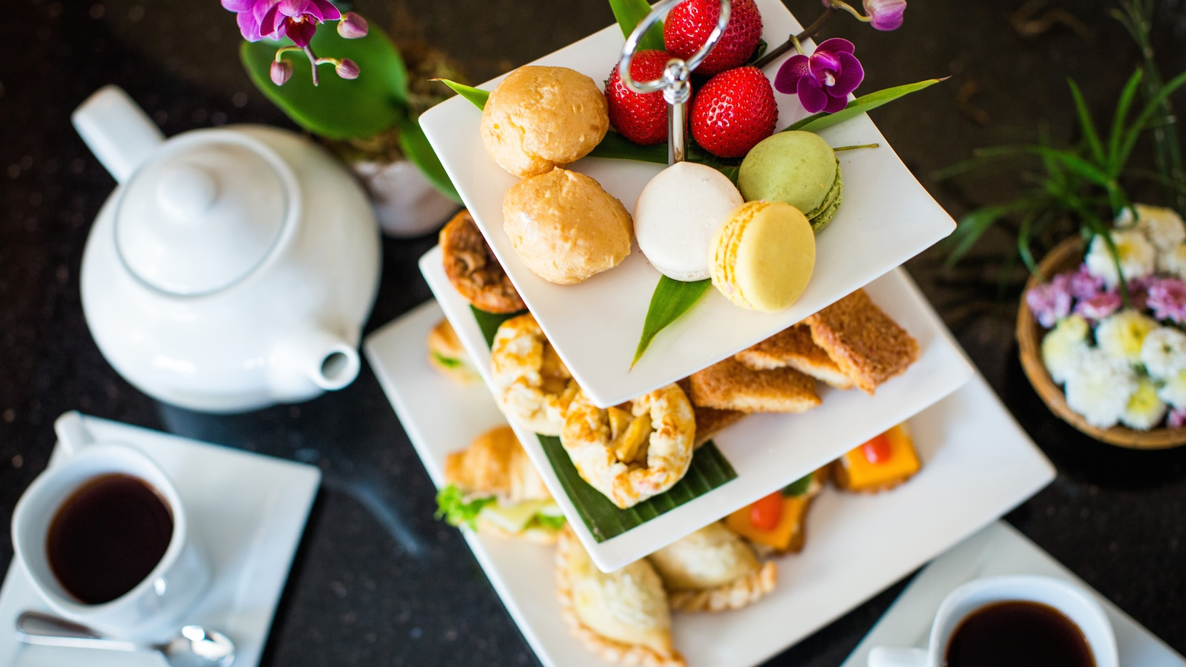 Bangkok at Beltline, a new restaurant, is serving high tea with Thai flavors.