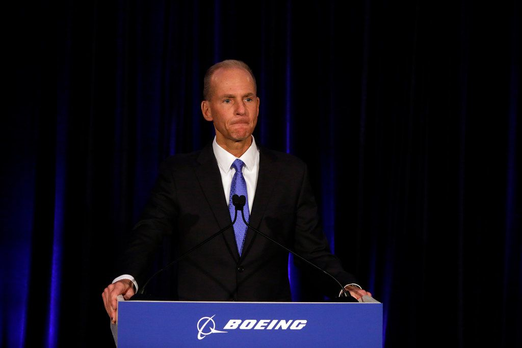 Boeing's Chairman, President and CEO Dennis Muilenburg is confronting one of the worst crises in the company's 103-year history.