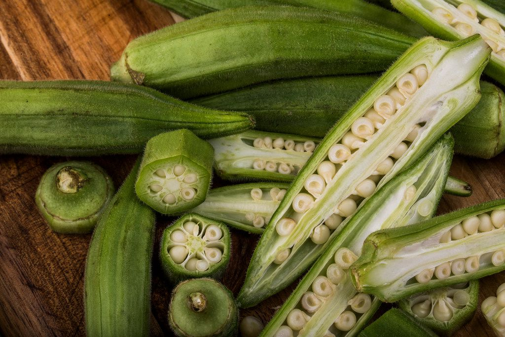 Okra doesn't have to be slimy.