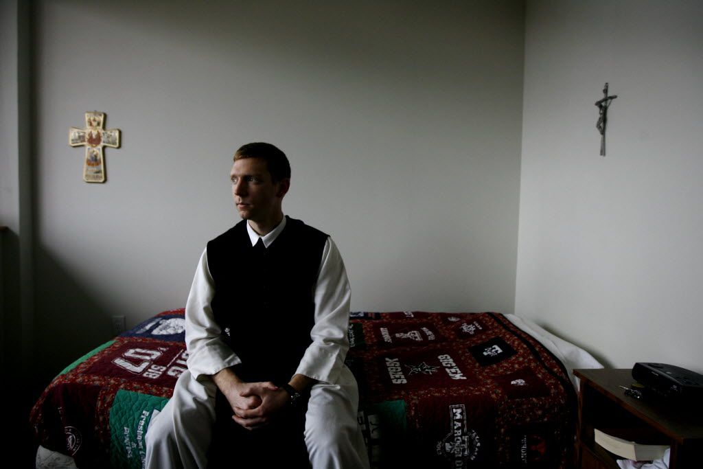 Irving monastery attracts growing number of young men