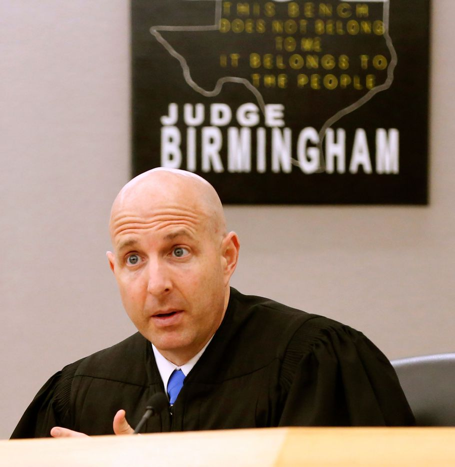 Judge Brandon Birmingham, who is presiding over the case, denied several defense motions to delay the trial in the run-up to testimony.