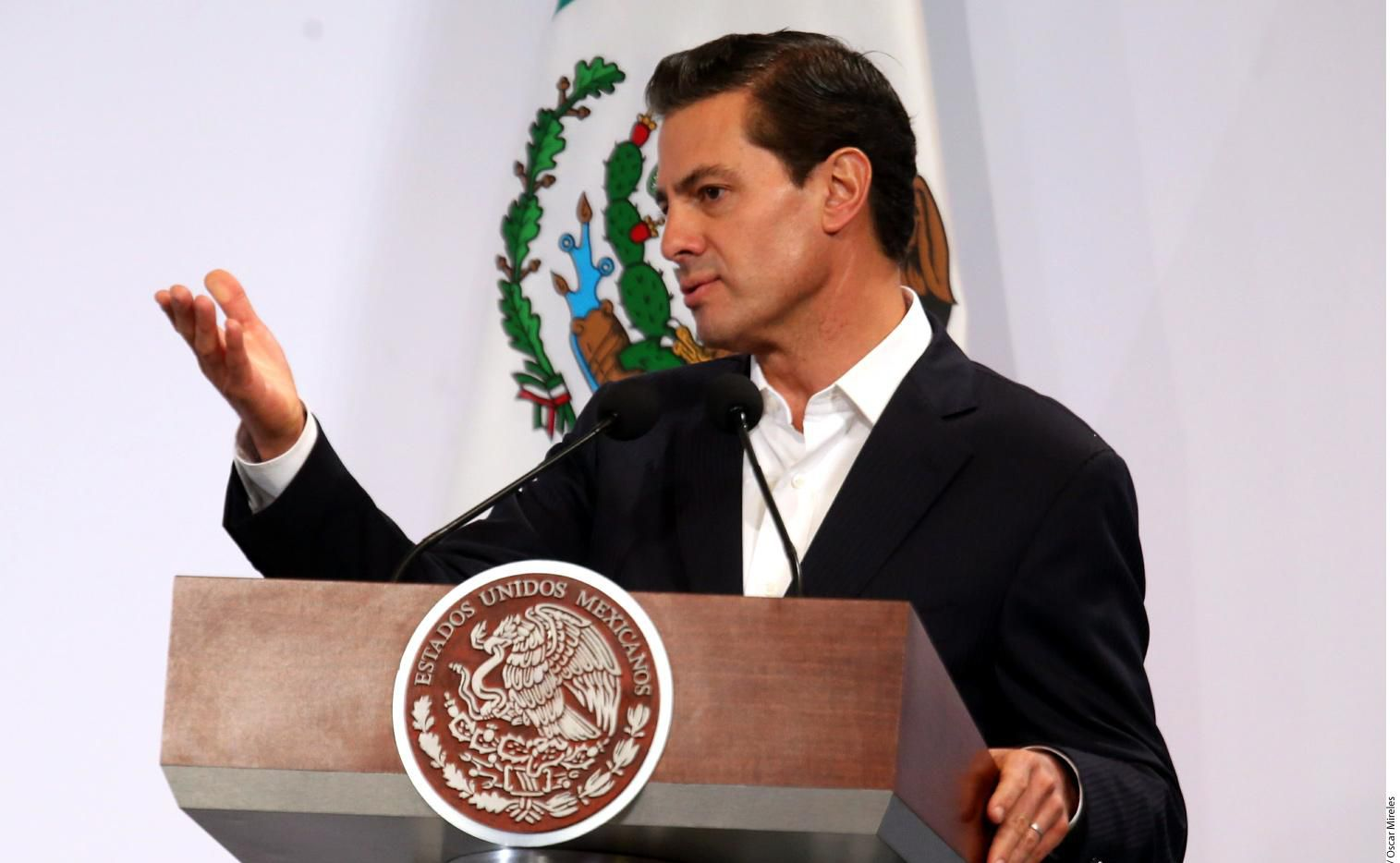 Enrique Peña Nieto prometió cumplir 266 compromisos durante la campaña que lo llevó a la presidencia de México.(AGENCIA REFORMA)