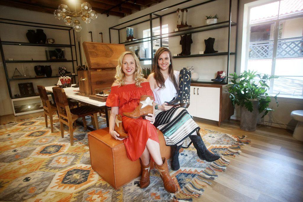 Sisters Sarah Means and Lizzie Means Duplantis are co-founders and co-owners of Miron Crosby, a made-to-order boot brand located in Highland Park Village.