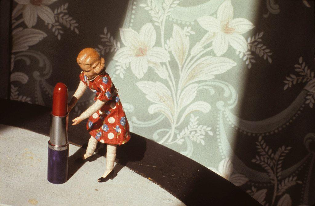 Laurie Simmons 'Pushing Lipstick (Spotlight),' 1979