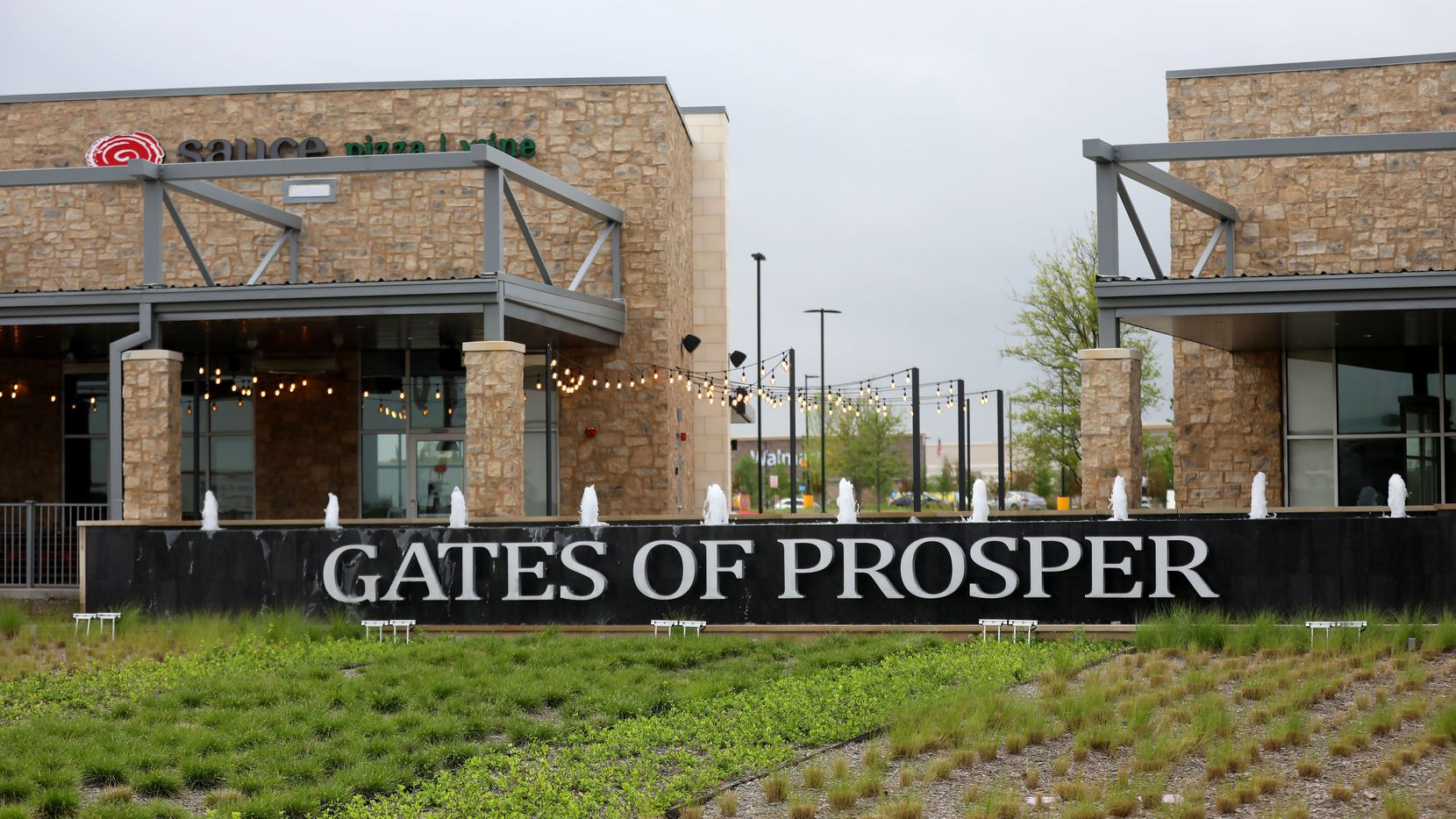 The Gates of Prosper shopping center will have almost 800,000 square feet of retail and restaurant space when the next phase is completed.
