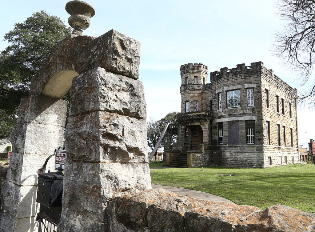 This Feb. 13 photo shows a castle in Waco that TV couple Chip and Joanna Gaines have bought. The Gaines' business, Magnolia, closed on the landmark Cottonland Castle in Waco, buying it from an Oxford University scholar who reportedly decided the renovation required someone with deeper pockets.