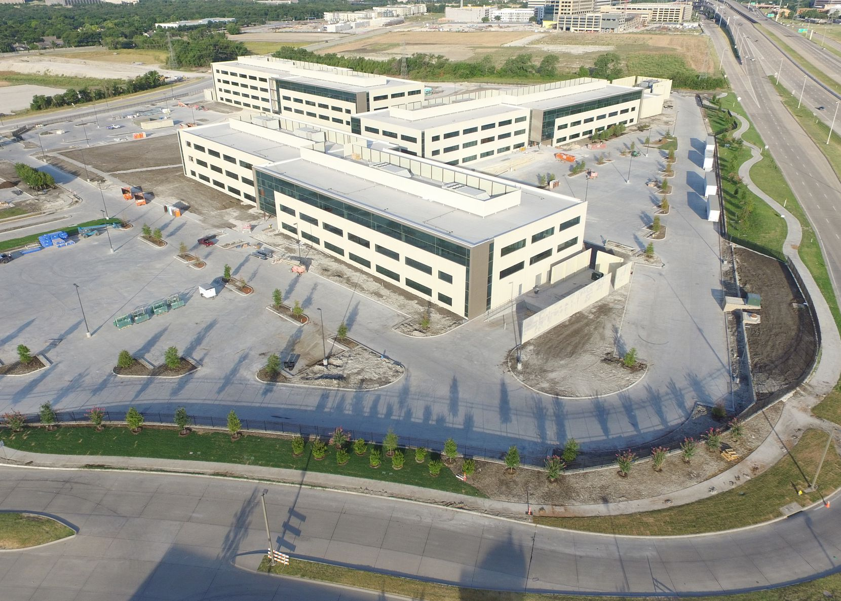 Raytheon's Richardson campus houses about 1,700 workers.