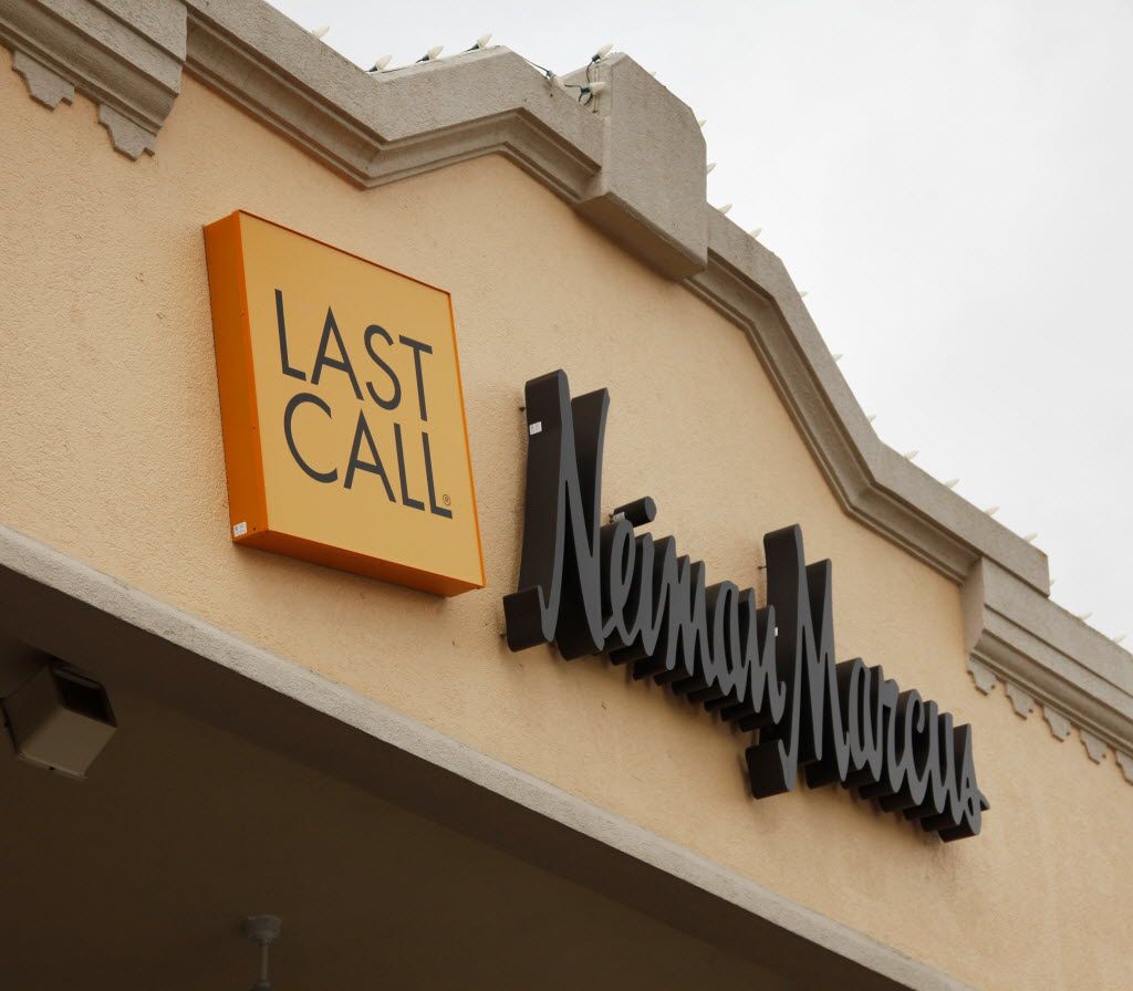 Neiman Marcus Last Call Store at Inwood Village photographed on May 13, 2010. Exterior view (Evans Caglage/The Dallas Morning News)