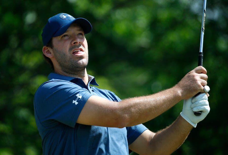 Tony Romo participará del certamen de golf Byron Nelson este año. Foto DMN