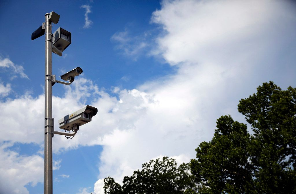 The city of Irving uses a set of red-light cameras at O'Connor Road and Lane Street. Attorneys Russell Bowman and Scott Stewart are challenging the city of Irving and several other cities in the state on the use of red-light cameras on the grounds of constitutionality and violation of state law.