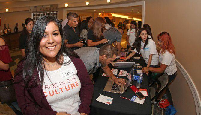 Voto Latino en el American Airlines Center. /FOTO ESPECIAL PARA AL Al DÍA OMAR VEGA