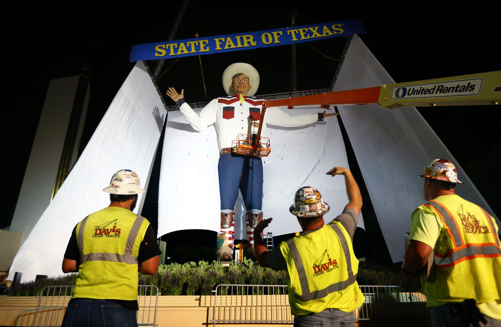 The new Big Tex, which was unveiled in 2013.
