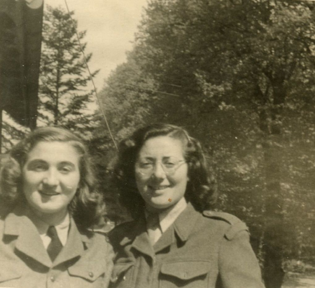 Lily Sternberg, Claire Sternberg and Magda Sternberg, after the war. The three sisters survived Auschwitz together. (Provided by Naomi Martin / Staff)