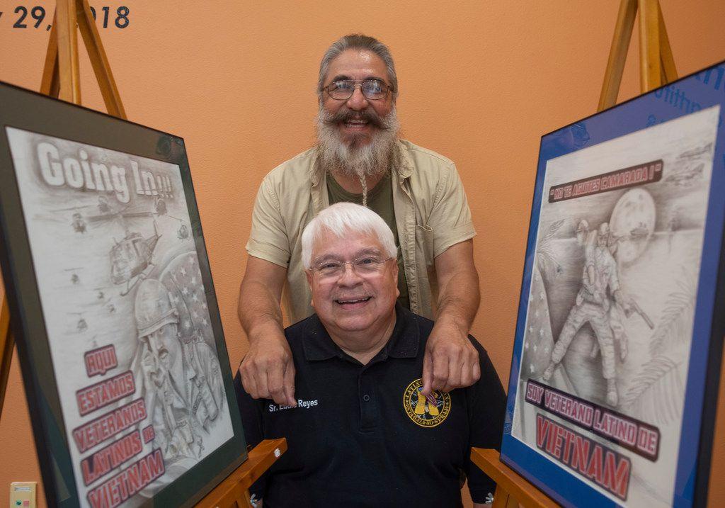 Dallas-area veteran wants to shine a light on Latino