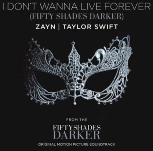 Taylor Swift y Zayn Malik lanzan sorpresivo dueto para la cinta 'Cincuenta sombras más oscuras'