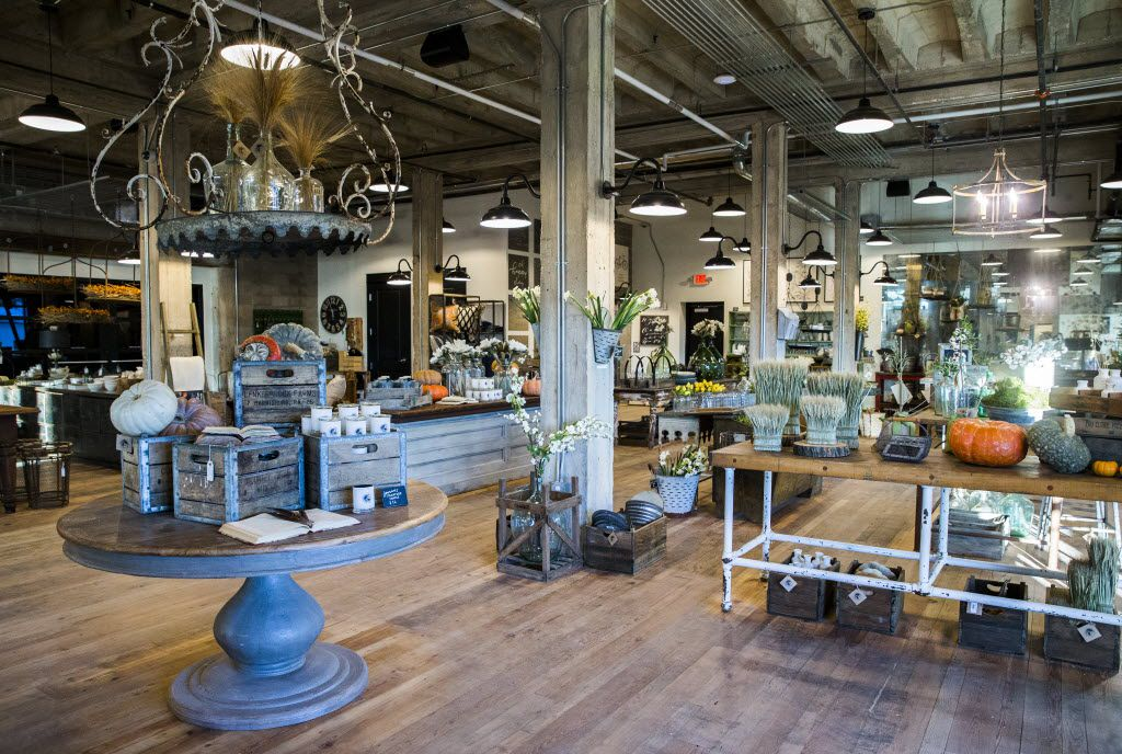 The interior of the new location of Magnolia Market at the Silos, owned by Chip and Joanna Gaines, hosts of HGTV's Fixer Upper, on Thursday, October 29, 2015 at Magnolia Market at the Silos in Waco, Texas.   (Ashley Landis/The Dallas Morning News)  -- MANDATORY CREDIT, TV OUT, MAGS OUT, NO SALES, INTERNET USE BY AP MEMBERS ONLY