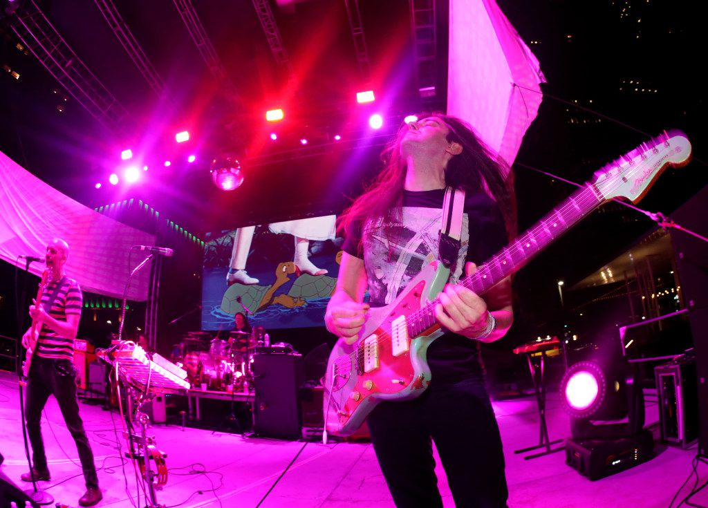 Tripping Daisy performs during Homegrown Music & Arts Festival in Dallas, TX, on May 13, 2017. (Jason Janik/Special Contributor)