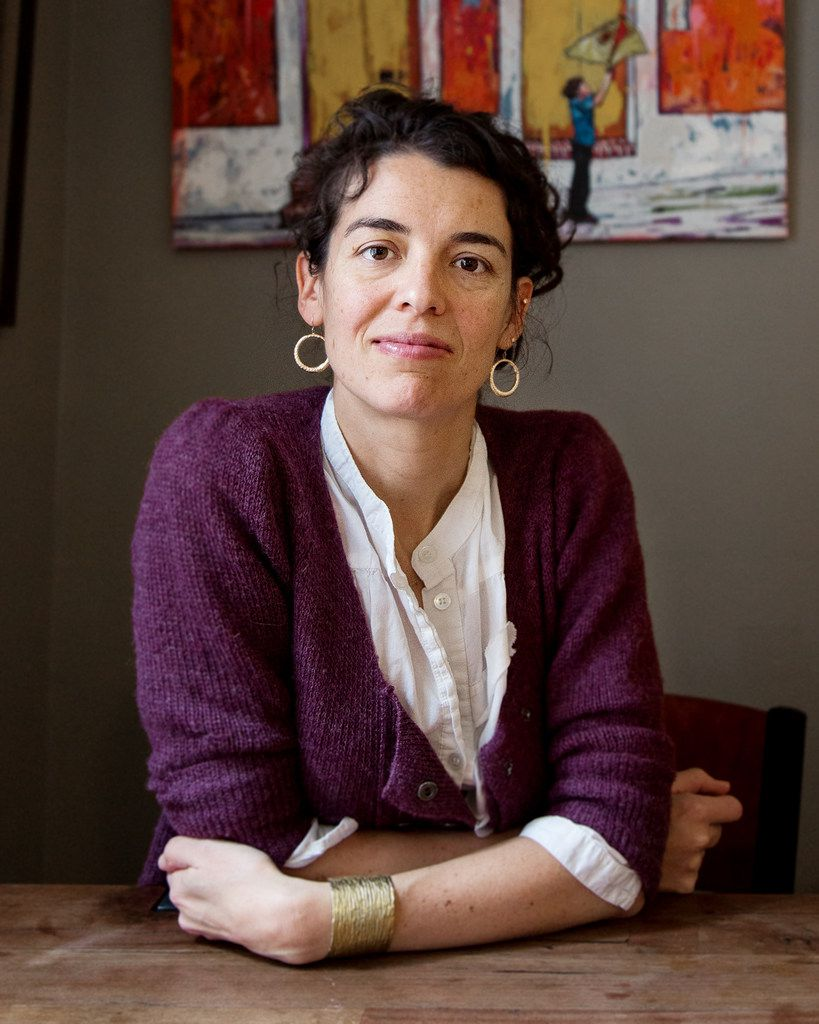 Quiara Alegría Hudes, whose  play Elliot, A Soldier's Fugue  will be presented by WaterTower Theatre in Addison.
