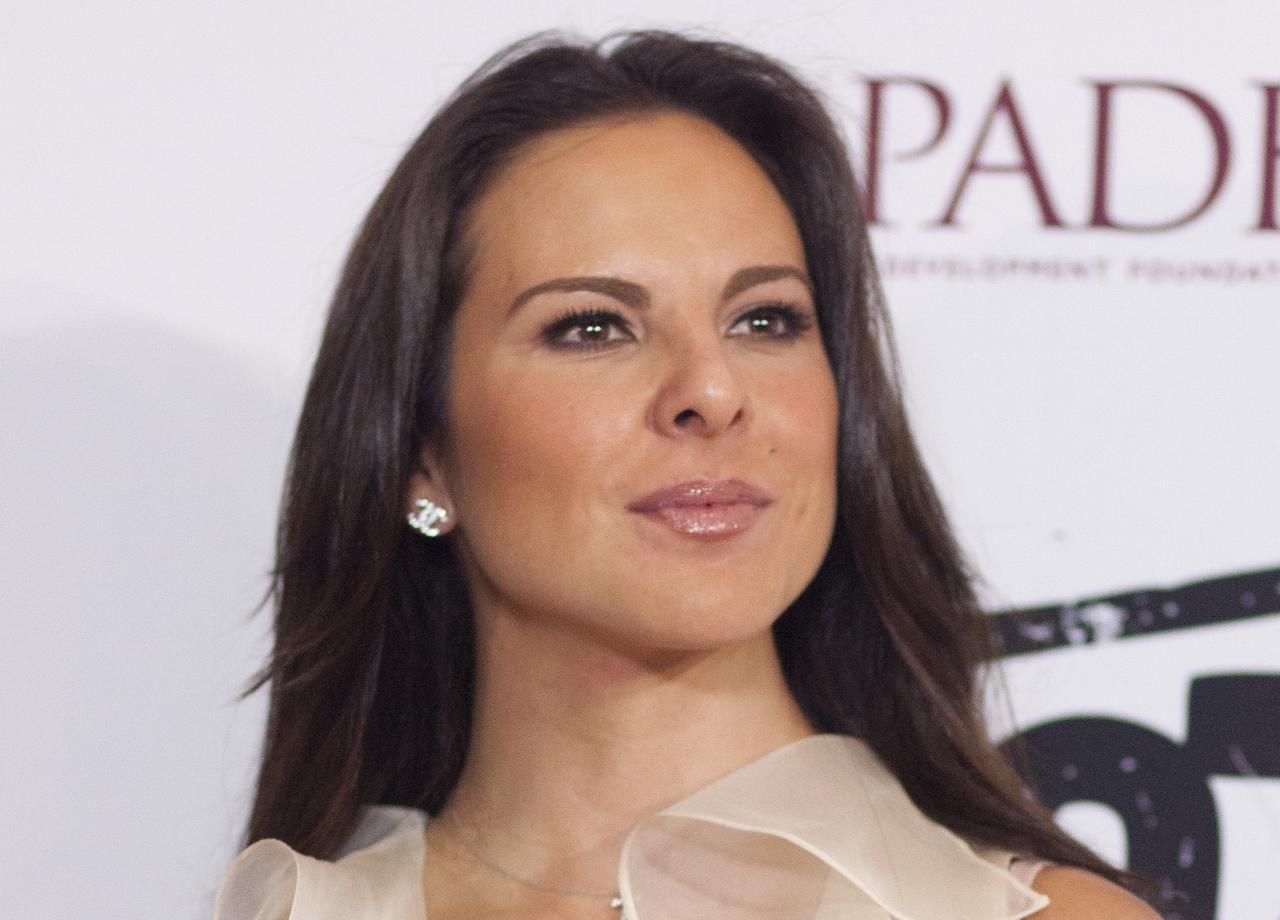 Kate del Castillo hasta ahora no declara sobre un supuesto lavado de dinero. (AP/ALEXANDRE MENEGHINI)