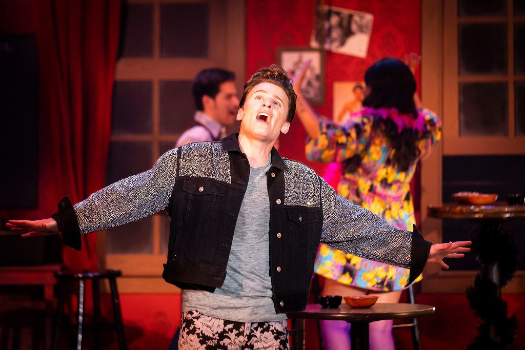 Los Angeles actor Blake McIver stars as fashion designer Wes in Uptown Players' production of the Max Vernon musical The View UpStairs.