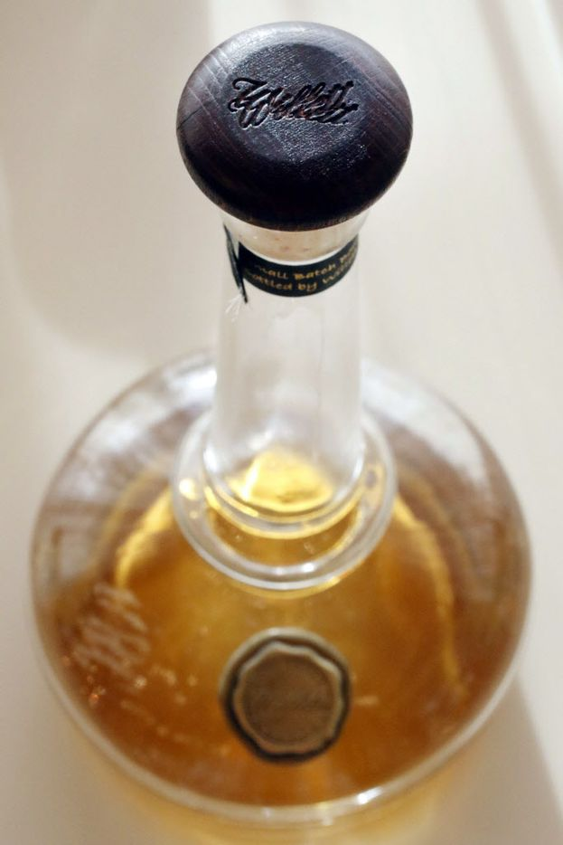 Willett Bourbon is among the popular brands carried in the bar.