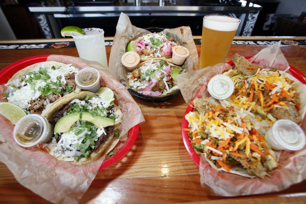 Lines form out the door at many of the Torchy's Tacos in Dallas-Fort Worth.