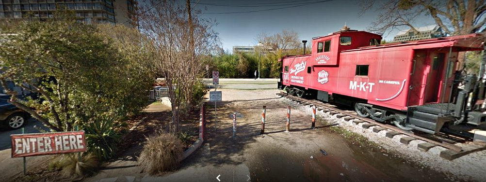 The Routh Street dead-end at the Katy Trail that the Ice House is buying from the city