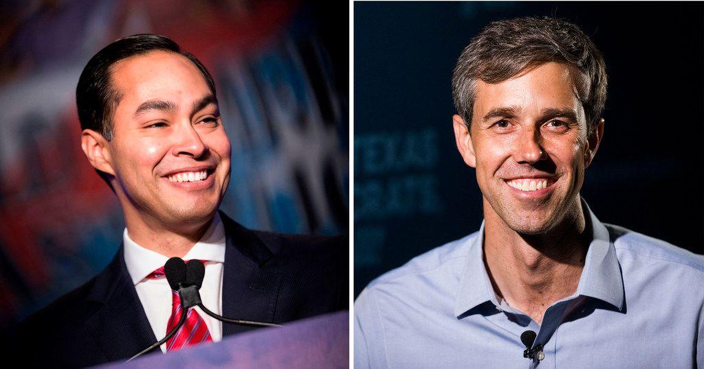 Julian Castro and Beto O'Rourke