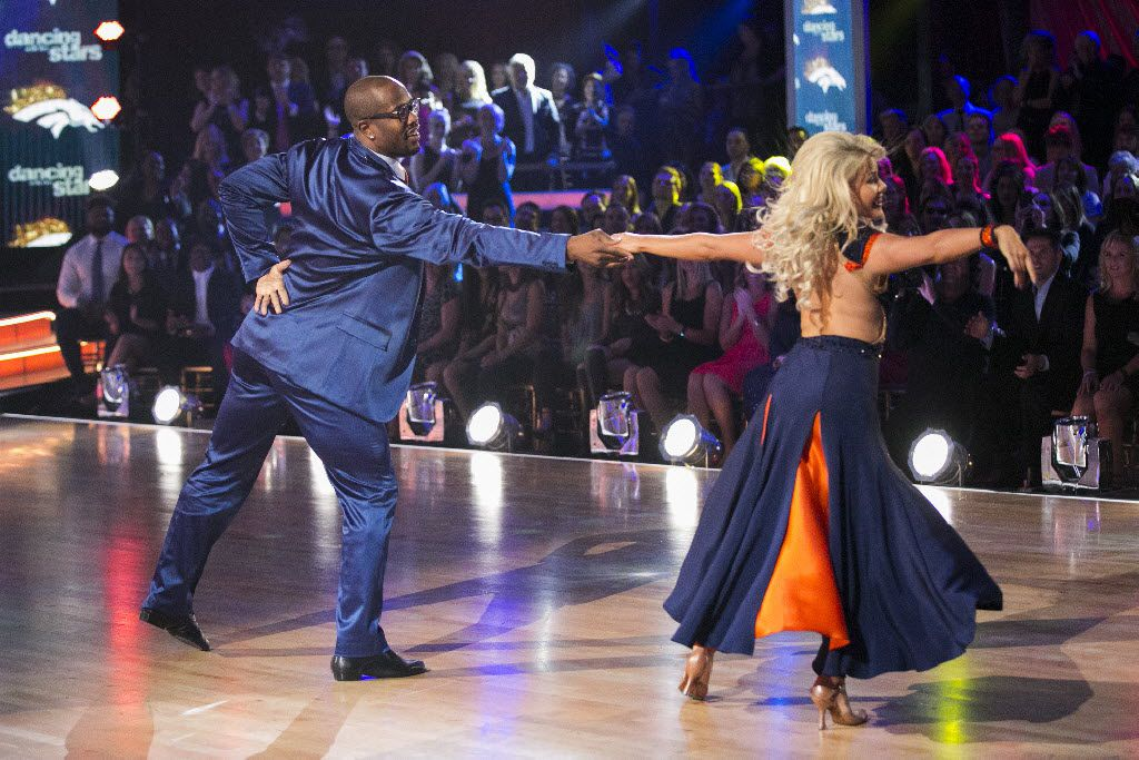 "The 22nd season of ""Dancing with the Stars"" began with the two-hour season premiere. Von Miller and Witney Carson  showed their team spirit in the last dance of the night."