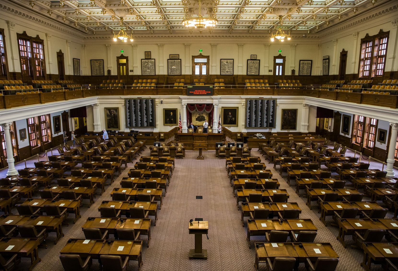 Democrats picked up 12 seats in the Texas House, meaning that in January, they will hold 67 seats in the 150-member chamber.