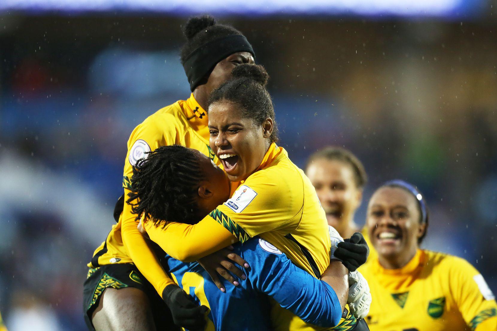 Jamaica celebra su pase al Mundial. Foto de Omar Vega para Al Día
