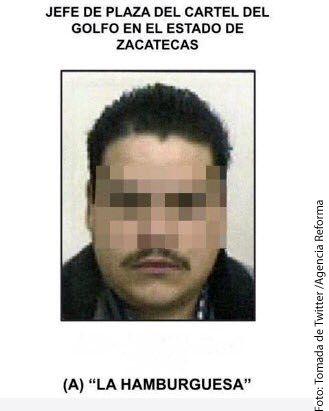 José Antonio Romo, líder del Cártel del Golfo, fue detenido en Zacatecas, junto con dos cómplices, tras más de cinco horas de persecución./ AGENCIA REFORMA