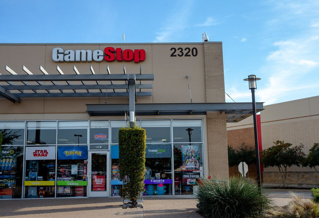 GameStop on Black Friday shopping in Fairview on Thursday, November 22, 2018.