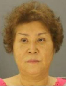 Yon Canapp after her arrest in 2016