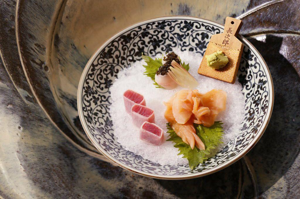 A sashimi platter at Tei-An
