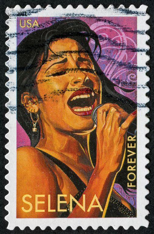Sello postal del Correo de Estados Unidos.