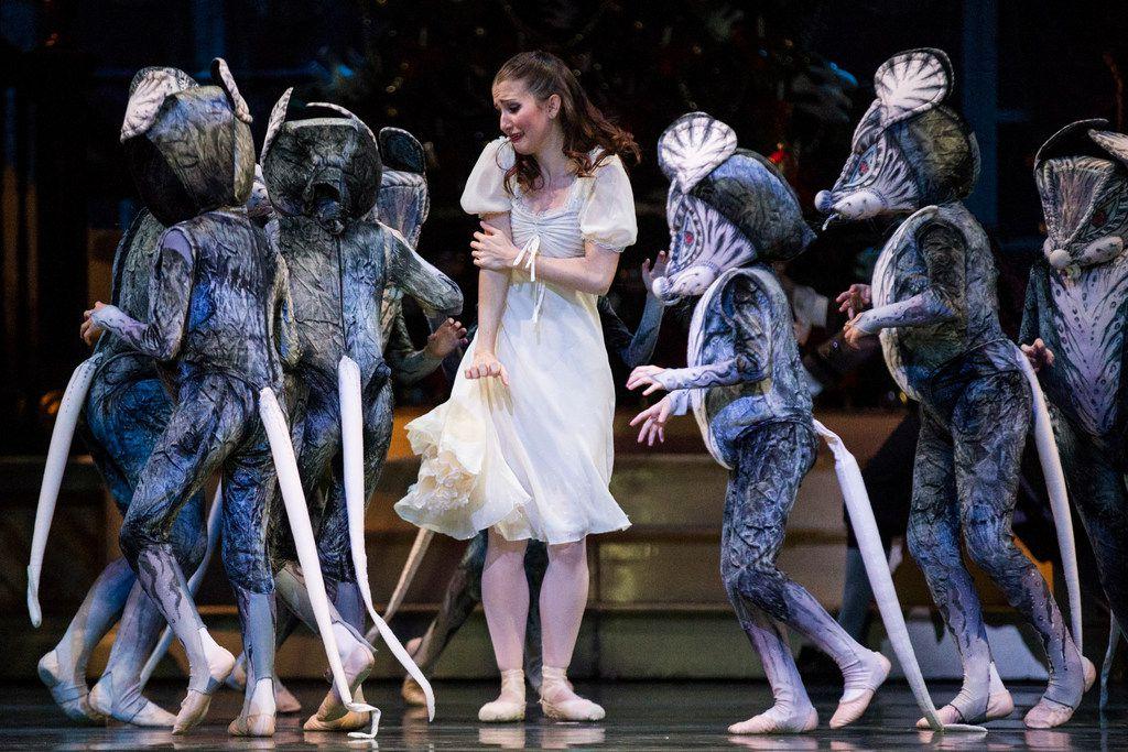 Charis Alimanova plays Clara during Texas Ballet Theater's dress rehearsal on Nov. 22.