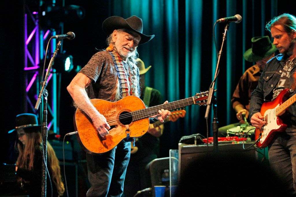 Willie Nelson and Family in concert at the Granada Theater in Dallas on Jan. 03, 2017.