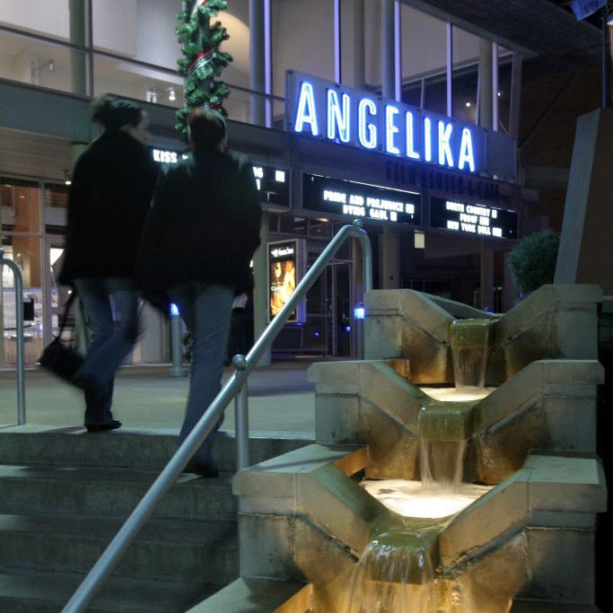 The Angelika theater is located in Mockingbird Station in Dallas.