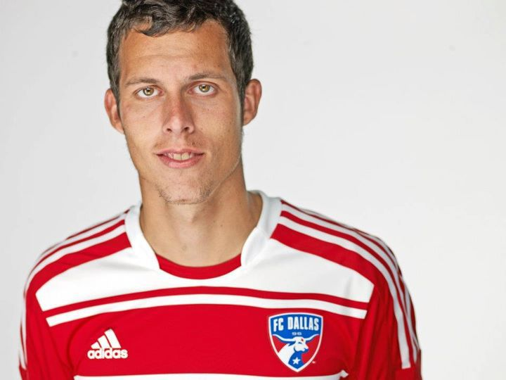 Matt Hedges in 2012, the year he was drafted by FC Dallas.