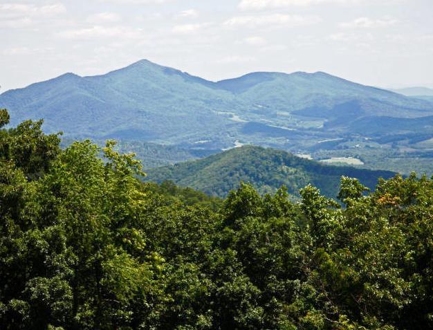 Panoramic view of Virginia's magnificent Blue Ridge.