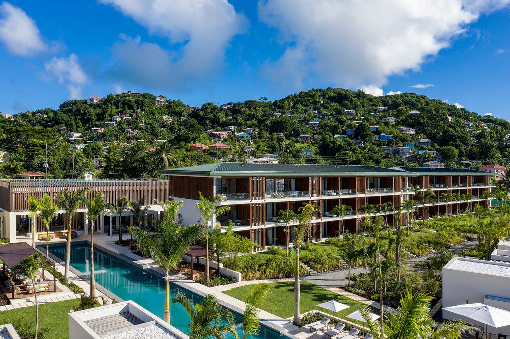 Silversands Resort is the first brand-new hotel built in Grenada in decades.