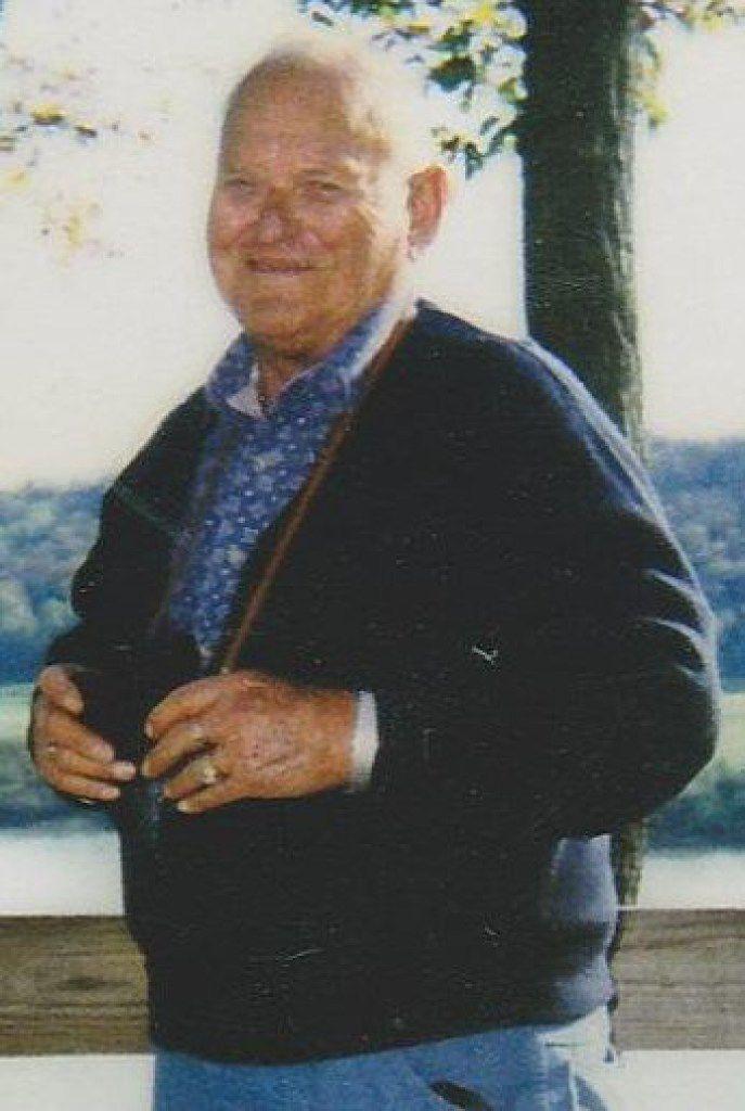 Kitty Warren's father, James  Jimbo  Kern, by the Ohio River.
