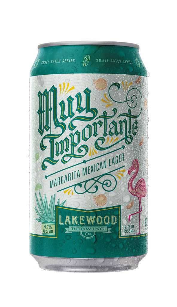 Lakewood Brewing Company launches a limited edition Muy Importante Margarita Mexican Lager.