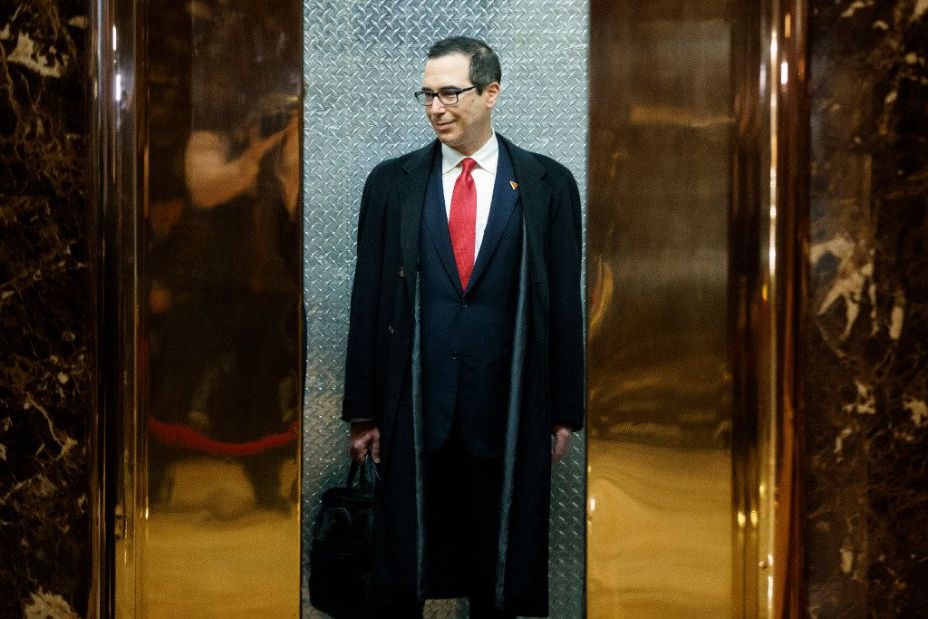 On the pick of Steven Mnuchin for treasury secretary, Jeb Hensarling dismissed criticisms that Donald Trump's early picks for his team signal a coziness with Wall Street. (Evan Vucci/The Associated Press)