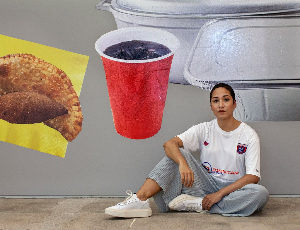Lucia Hierro has brought her conceptual art to Dallas for her first solo show in Texas.
