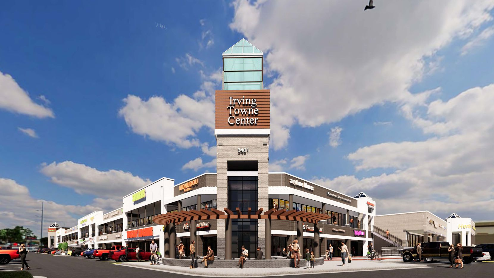 Decades-old Irving shopping center gets a reboot with