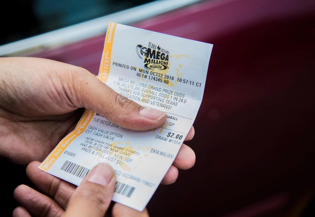 Lakeshiya Williams of Dallas bought her lottery tickets for Tuesday night's Mega Millions at 7-Eleven on Abrams Road.