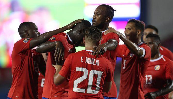 Costa Rica se impuso a Bermuda en partido del Grupo B de la Copa Oro disputado el jueves en Frisco. Foto de Omar Vega para Al Día