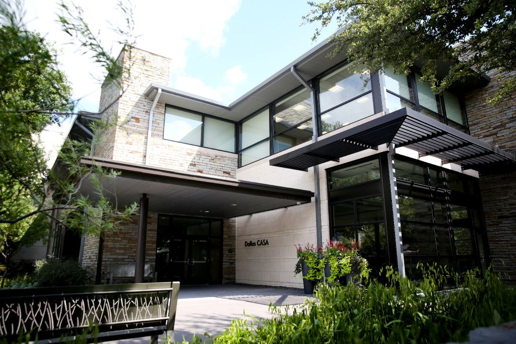 The exterior of Dallas CASA headquarters in Dallas. The group netted $1.74 million from its spring golf tournament.
